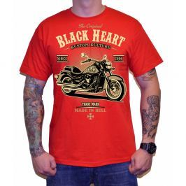 BLACKHEART Harley Red červená - M