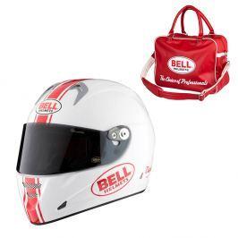Bell M5X Daytona White Red S (55-56)