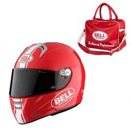 Bell M5X Daytona Red White L (59-60)
