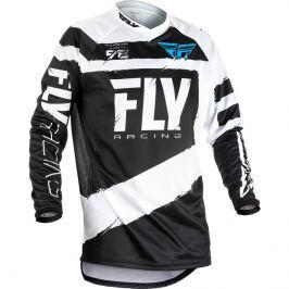 Fly Racing F-16 2018 čierno-biela - S