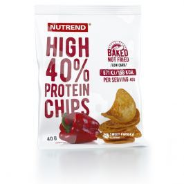 Nutrend High Protein Chips 6x40g soľ