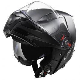 LS2 Metro Solid Matt Black matne čierna - XS (53-54)
