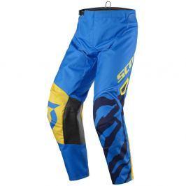 SCOTT 350 Race Kids blue-yellow - M (140)