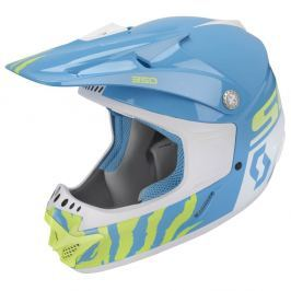 SCOTT 350 Race Kids blue-white - S (47-48)
