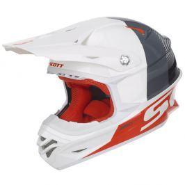 SCOTT 350 Pro Track White-Orange - M (57-58)