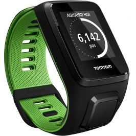 TomTom Runner 3 čierno-zelená - L (143-206 mm)