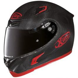 X-lite X-802RR Puro Sport Carbon čierno-červená - L (59-60)