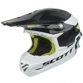 SCOTT 350 Pro Race čierno-zelená - XS (54)