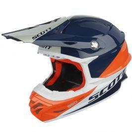 SCOTT 350 Pro Trophy modro-oranžová - XL (62)