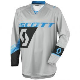 SCOTT 350 Dirt MXVI šedo-modrá - M (46-48)