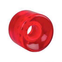 WORKER Průhledné kolečko na penny board 60*45 mm červená