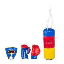 Spartan Boxovací set - pytel 1 kg + chránič hlavy + rukavice