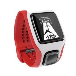 TomTom MultiSport Cardio bielo-červená