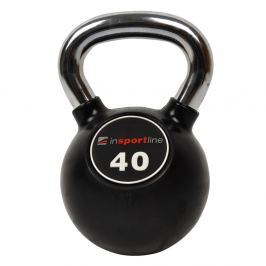 inSPORTline Ketlebel s chromovou rukojetí 40 kg