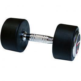 inSPORTline Profi pogumovaná jednoručka 50 kg