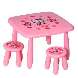 Hello Kitty Hello Kitty dětský stoleček a židle
