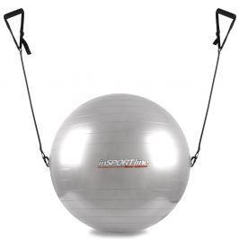 inSPORTline lopta s úchytkami 55 cm šedá