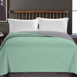 DecoKing Prehoz na posteľ Axel zelená, 220 x 240 cm