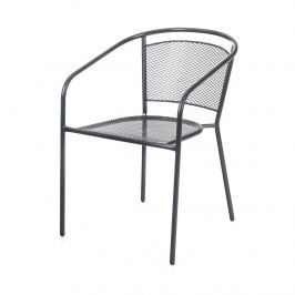 HAPPY GREEN Židle zahradní ocelová 58 x 54,5 x 74,5 cm