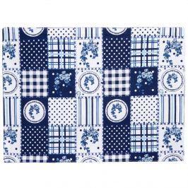 Trade Concept Prestieranie Country patchwork modrá, 33 x 45 cm