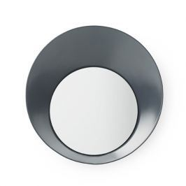 Normann Copenhagen Vešiak Ready Hook so zrkadielkom 20 cm, šedý