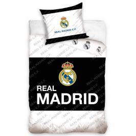 ecce6b4b9c337 Recenzia Tip Trade bavlnené obliečky Real Madrid Black Belt, 160 x 200 cm,  70 x 80 cm