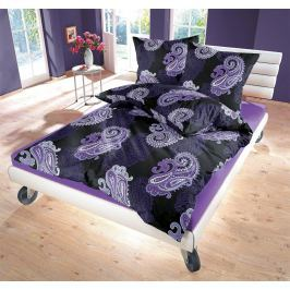 Kvalitex Satén obliečky Casablanca Purple