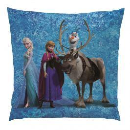 CTI Vankúšik Ľadové kráľovstvo Frozen Team, 40 x 40 cm