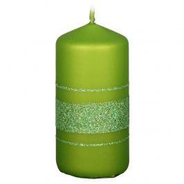 NG 92347ol Vianočná sviečka Fénix, zelená