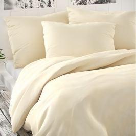 Kvalitex Saténové obliečky Luxury Collection smotanová, 200 x 200 cm, 2 ks 70 x 90 cm