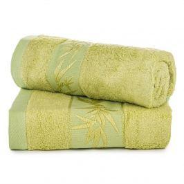 Jahu darčeková sada uterákov bambus Hanoi zelená