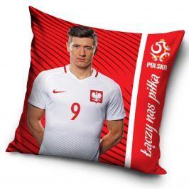 TipTrade Vankúšik PZPN Lewandowski red, 40 x 40 cm