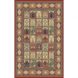 Habitat Kusový koberec Brilliant square červená, 200 x 300 cm