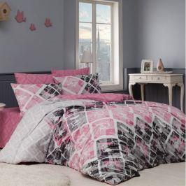 BedTex Bavlnené obliečky Riviéra ružová, 220 x 200 cm, 2 ks 70 x 90 cm