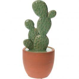 Keramický kaktus v kvetináči Guerrero, 24 cm