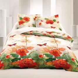 Kvalitex Saténové obliečky Luxury Collection Butterfly, 240 x 200 cm, 2 ks 70 x 90 cm