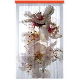 AG ART Záves Flowers, 140 x 245 cm