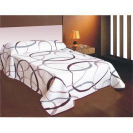 Prehoz na posteľ May fialový, 240x260 cm, Forbyt