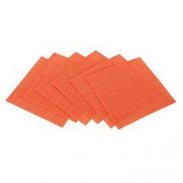 Banquet Prestieranie Culinaria Orange, 6 ks 10 x 10 cm