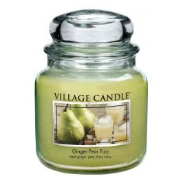Village Candle Vonná sviečka v skle, Hruškový fizz so zázvorom, 16oz