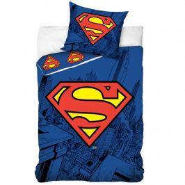 Tiptrade bavlna obliečky superman 140x200 70x90