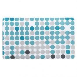 Kúpeľňová predložka Circle modrá
