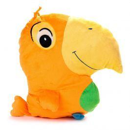 BO-MA Trading Papagáj oranžový, 38 x 36 cm