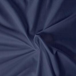 Kvalitex prestieradlo satén tmavomodré, 180 x 200 cm