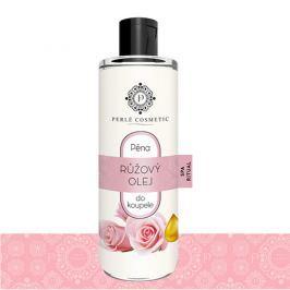 Perlé Cosmetic Pena do kúpeľa s ružovým olejom, 500 ml