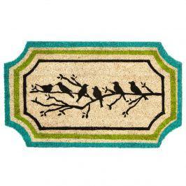 Trade Concept Kokosová rohožka Vtáčiky na vetvičke, 45 x 75 cm