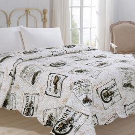 Jahu Prehoz na posteľ Auto, 220 x 240 cm