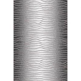 Habitat Kusový koberec Luna waves čierna