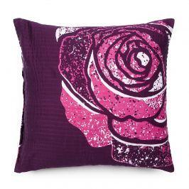 Jahu Obliečka na vankúš krepový satén Mary Rose pink, 40 x 40 cm