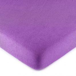 4Home jersey prestieradlo fialová, 90 x 200 cm